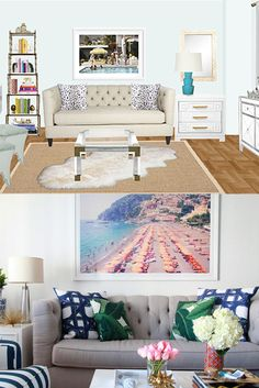 Need a refresh? The Havenly experience allows you to design your dream room with our professional interior decorators. All online. You can even order your new furniture through our website. We make decorating easy.