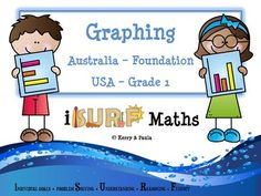 Graphing (K-1) from iSURF Maths on TeachersNotebook.com -  (26 pages)  - Graphing (K-1) In the early years we expect our students to be able to answer yes or no questions and graph information. This pack will help with this – just print and go. (26 pages)  This pack is aim