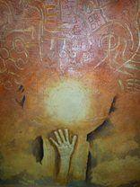Bohuslav Vágner  Indiánské čarování Mix Media, Oil, Artist, Painting, Artists, Painting Art, Paintings, Painted Canvas, Drawings