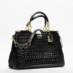 Coach :: Madison Pleated Gathered Leather Caroline