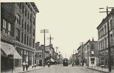 East Main St.-looking west-Rockford, Illinois.
