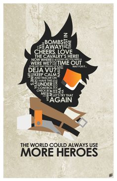 Overwatch - Tracer quote poster #overwatch #tracer