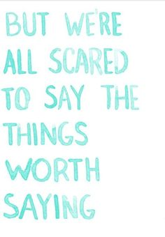 Let your fear go it will be worth it! :)