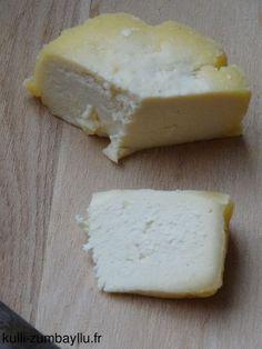 Fromage maison au lait de vache (sans présure)