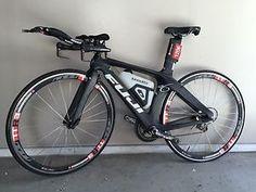 50cm Fuji D6 Small Time Trial Bike // Black Sram red Triathlon TT - $910.00 - http://www.carbonframebikes.com/us/Fuji-D6.html