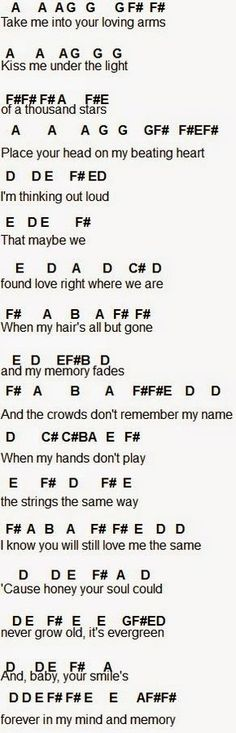 Flute Sheet Music Ed Sheran (I think that's how it's spelled) thinking out loud Clarinet Sheet Music, Cello Music, Music Chords, Ukulele Songs, Music Ed, Music Lyrics, Music Notes, Music Bands, Guitar Chords