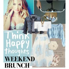 Weekend Brunch by perlarara on Polyvore featuring polyvore fashion style Topshop maurices Coast Miu Miu Nancy Gonzalez Dolce&Gabbana Victoria Beckham