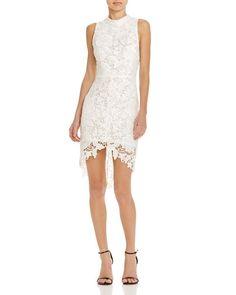 ASTR Samantha Floral Lace Dress