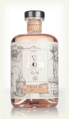 The fourth release from the Buss No. Beverage Packaging, Bottle Packaging, Label Design, Packaging Design, Flavoured Gin, Premium Gin, Gin Brands, Gin Bar, Chocolate Packaging