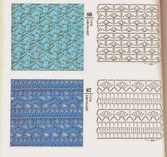LE GATTE COI TACCHI: Punti per coperte e copertine all'uncinetto