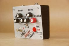 That Crazy Pedal by Analogwise.  Instant feedback? Check. Glitchy 8-bit fuzz? Check. Transparent overdrive? Check. It's got it all. This pedal has it all.