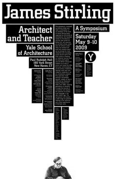 Yale School of Architecture, designed by Michael Bierut