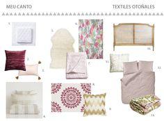 Ropa de cama rosa : via MIBLOG