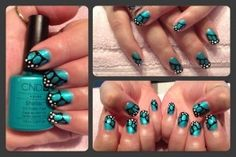HOTSKI TO TROTSKI Yummy Shellac Nails - Click this pin for more awesome nail pics!!! XY Body Treatments <3