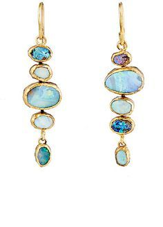 Solid Yellow Gold White Opal Gemstone Dangle Earrings, Dainty Opal Gemstones Earrings, Bridal Handmade Wedding Jewelry Gift for Brides, Graduation Gift – Fine Jewelry & Collectibles Opal Earrings, Opal Jewelry, Jewelry Box, Fine Jewelry, Drop Earrings, Jewelry Bracelets, Beautiful Earrings, Women's Accessories, Jewelry Design