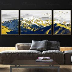 3 pieces gold art painting on canvas wall art pictures for living room wall decor original abstract Etsy Wall Art, Gold Art Painting, Wall Art Pictures, Painting, Acrylic Canvas, Art, Canvas Painting, Canvas Pictures, Gold Abstract Painting