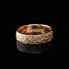 VINTAGE WEDDING RING | KAYES JEWELLERS