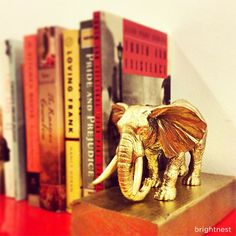 So cute! BrightNest | Choose Your Own Adventure: DIY Animal Bookends