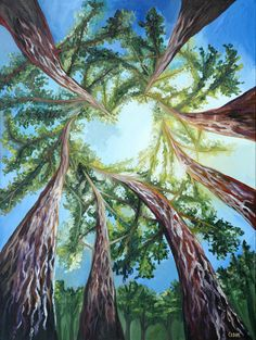 Love is in the trees, by artist Cedar Lee