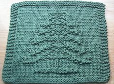 DigKnitty Designs: Another Christmas Tree Knit Dishcloth Pattern. - Crochet an. Knitting Squares, Dishcloth Knitting Patterns, Crochet Dishcloths, Knit Or Crochet, Crochet Patterns, Crochet Designs, Knitting Blogs, Loom Knitting, Knitting Stitches