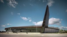 aerospace museum architecture description - Google Search