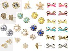 Sweet Southern Prep-- Cute stud earrings!
