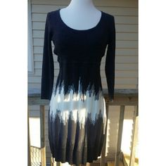 Sweater dress Cute charcoal sweaterdress. Like new! Dresses