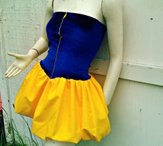 Snow White princess mini dress Cosplay Costume