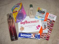 Thanks for the goodies, Influenster! I love my voxbox of FREE products to try. Check them out http://www.influenster.com