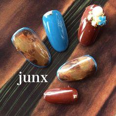 Diva Nails, Fun Nails, Mani Pedi, Manicure And Pedicure, Japan Nail, Japanese Nail Art, Autumn Nails, Nail Art Designs, Nail Polish