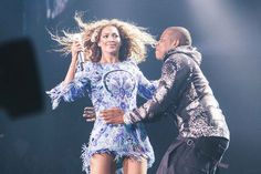 This is the Face Beyonce Made When Jay Z Crashed Her Concert - Jay Z - Zimbio