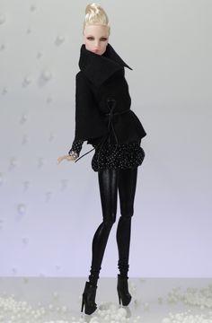 3.Elise (nu.face body) inc: Coat, Dress, Leggins, Boots, Handbag inspired by Hermes Birkin Bag