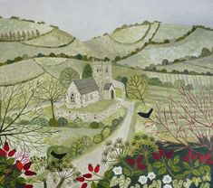 Paintings | Vanessa Bowman Art  I love this!!