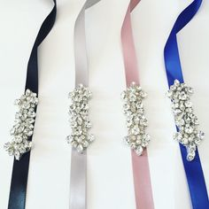 Bridesmaids belt / bridal belt / flower girl sash / simple bridal accessories / maid of honor belt / how to make your MOH stand out from the other bridesmaids / affordable bridal accessories