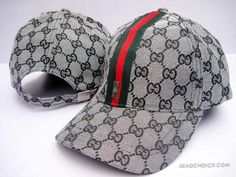 Gucci Caps Grey GG With Green Stripe 98b398fcb0d