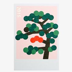 D-BROS 2015 年賀状 キカガクシリーズ / 松の木 - KAUNIS