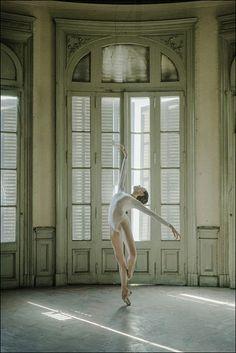 Katie - Barracas, Buenos Aires Bodysuit by... - ballerinaproject More