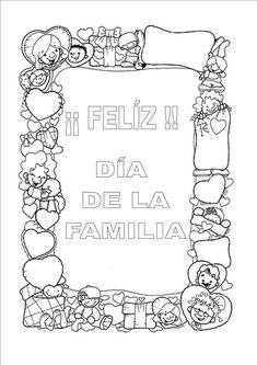 El próximo día 15 celebramos en las clases el día de la familia , hacemos Manualidades regalos para la familia y porque no decorar o colorear estos carteles conmemorativos de este día, una manera sencilla de celebrar este día