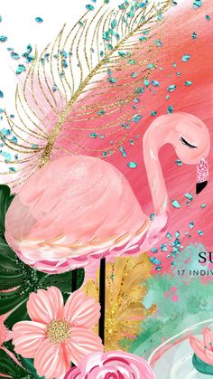 Papel – page 3 – wallpapers Flamingo Wallpaper, Flower Wallpaper, Screen Wallpaper, Cool Wallpaper, Mobile Wallpaper, Wallpaper Backgrounds, Iphone Wallpaper, Inspiration Artistique, Pink Flamingos