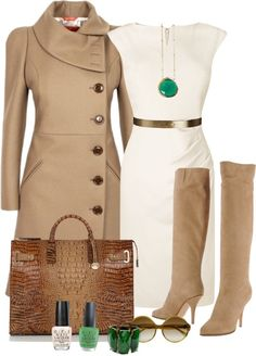 "LOVE THE COAT ""OPI"" by seasunsand ❤ liked on Polyvore..."