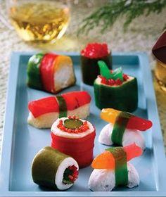 Sushi dulce de chuches