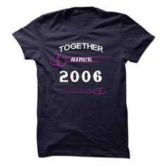 Together since 2006 - #tee quotes #cream sweater. GUARANTEE => https://www.sunfrog.com/LifeStyle/Together-since-2006.html?68278