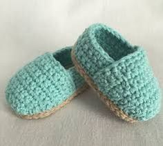 Image result for crocheted baby shoes