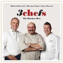 3 Chefs Cookbooks Chef Cookbook, Chefs, Chef Jackets, Wine, Store, Food, Storage, Meals, Yemek