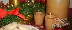 Recept Perníkový vánoční likér Beverages, Drinks, Christmas Cookies, Glass Of Milk, Sangria, Mojito, Lime, Cocktails, Appetizers