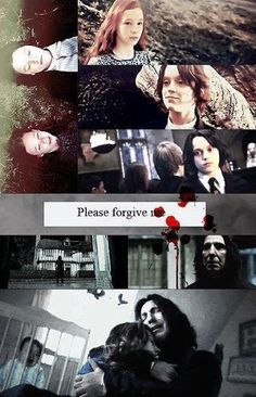 Harry Potter - Lilly and Snape Snape Harry, Severus Snape, Draco, Hermione, Lily Evans, Golden Trio, Snape And Lily, Harry Potter Sad, Severus Rogue