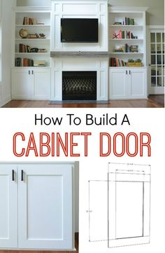to Build a Cabinet Door How to Build a Cabinet Door. It's easier than you think! Learn how!How to Build a Cabinet Door. It's easier than you think! Learn how! Cabinet Doors, Home Projects, Diy Furniture, Home, Built Ins, Diy Home Improvement, Home Remodeling, Diy Cabinets, Home Diy