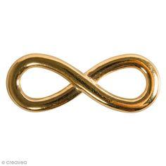 Compra nuestros productos a precios mini Colgante de metal - Infinito Dorado - 30 mm - 1 ud - Entrega rápida, gratuita a partir de 89 € !