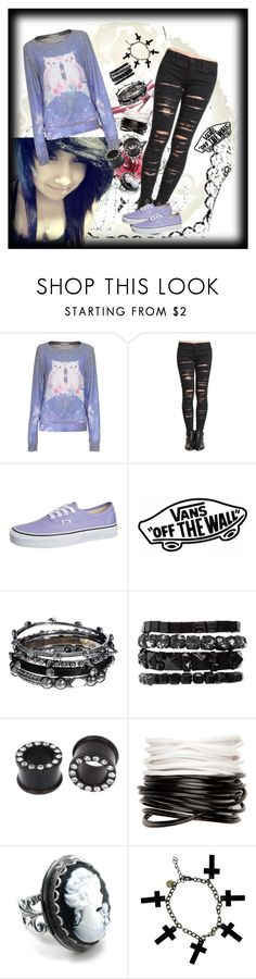 """Novelli inspired look <3"" by xxxpixi3xxx ❤ liked on Polyvore featuring Wildfox, BLANKNYC, Vans, DesignSix, Pieces, Full Tilt and Alex and Chloe"