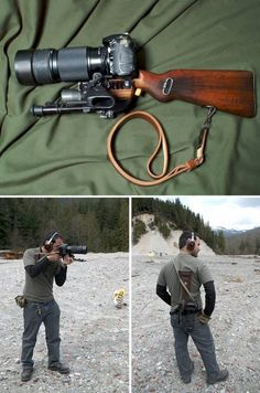 Gun + Camera = A New Meaning to Shooting People
